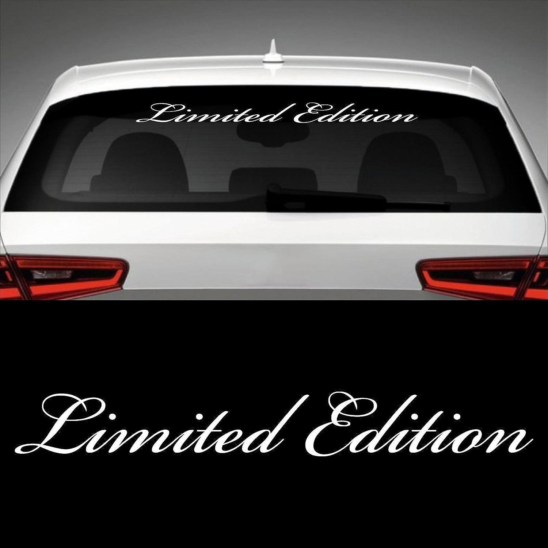 Limited Edition Heckscheibenaufkleber 60 0 Cm X 7 5 Cm Auto Aufkleber Jdm Oem Tuning Sticker Decal 30 Farben Zur Auswahl 1 Auto