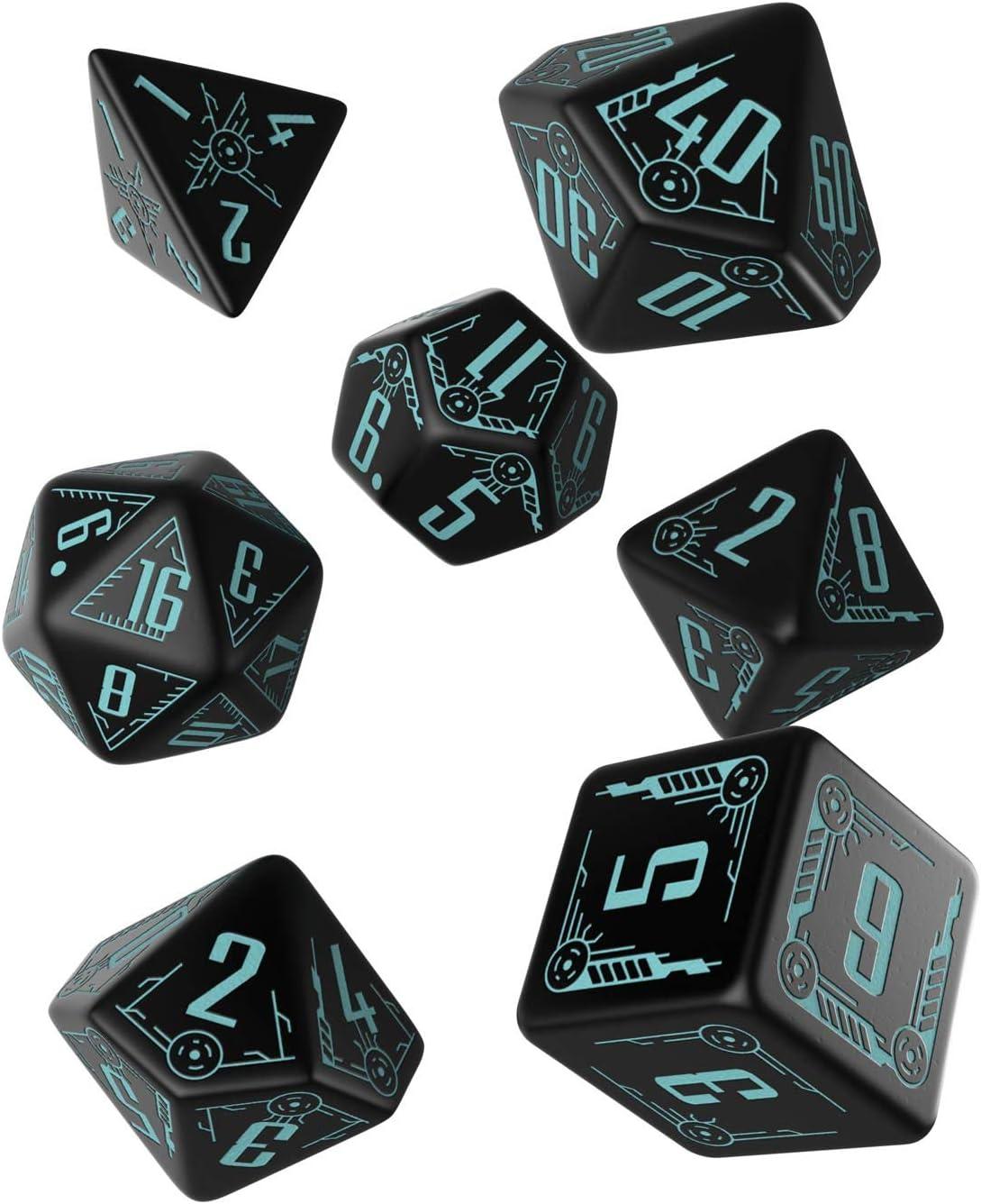 Black /& Blue Q-Workshop QWOSGAL67 Galactic Set of 7