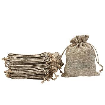 Shintop - 20 bolsas de regalo con cordón, bolsa para dulces ...