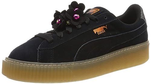 PUMA Platform Flower Tassel Wn's, Sneakers Basses Femme