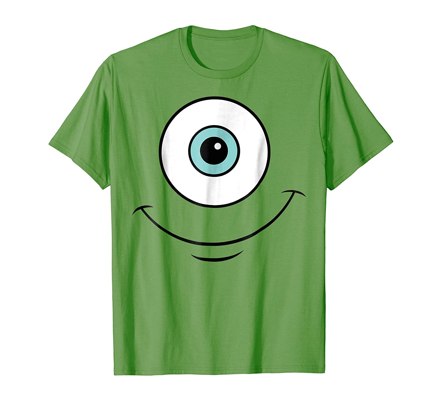 Disney Monsters Inc. Mike Eye Halloween Graphic T-Shirt