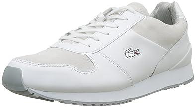940e40116d6b84 Lacoste Men s Trajet 417 3 SPM Low-Top Sneakers  Amazon.co.uk  Shoes ...
