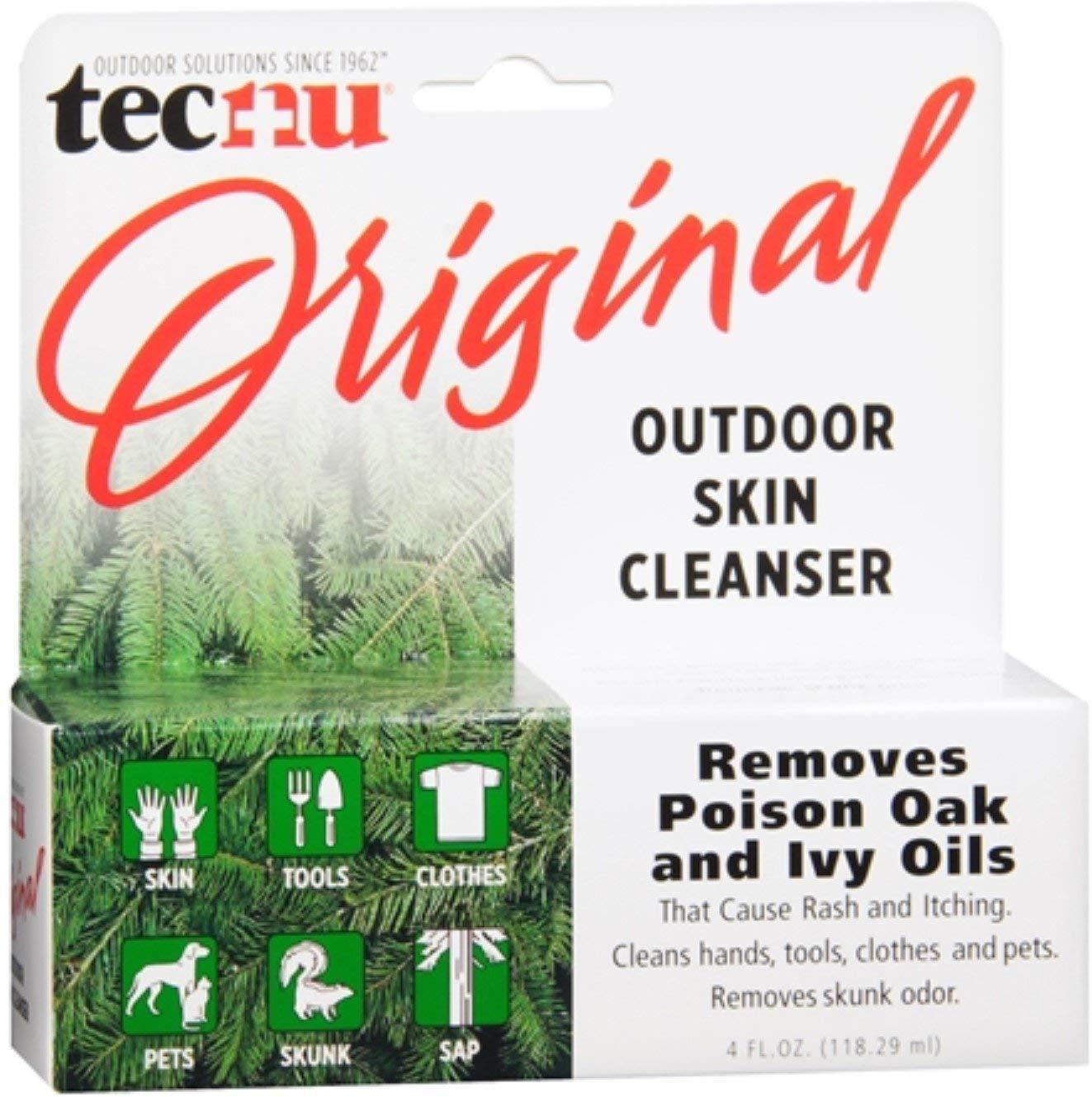 Tecnu Outdoor Skin Cleanser 4 oz (Pack of 7) by Tecnu