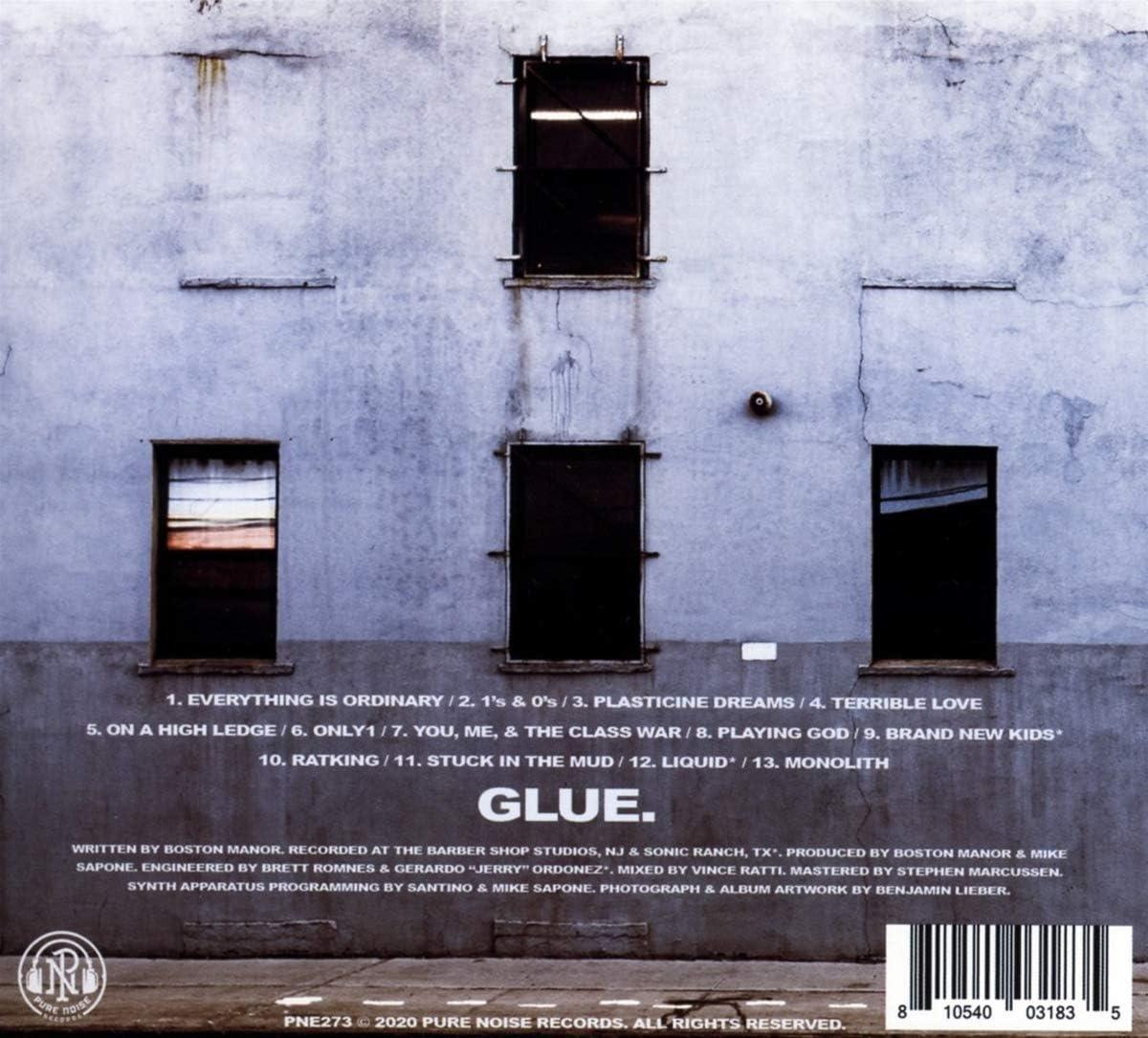 "New Music Boston Manor /""GLUE/"" LP"