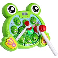 Yuham Whack a Frog Pounding Game, Developmental Toddlers Toys for 3 4 5 6 7,2 Year...