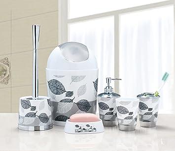 Badezimmer-Zubehör-Set, mit Seifenschale/ Seifenspender ...