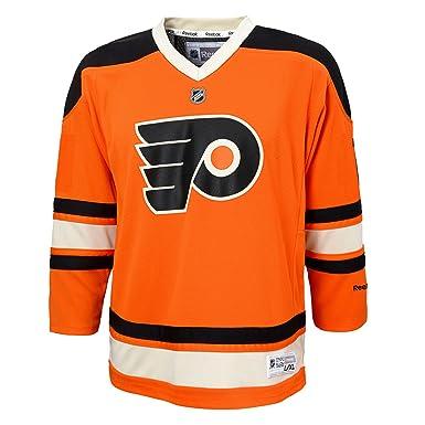 c340fe4f1b4 Amazon.com: Outerstuff Philadelphia Flyers Blank Orange Kids 4-7 ...