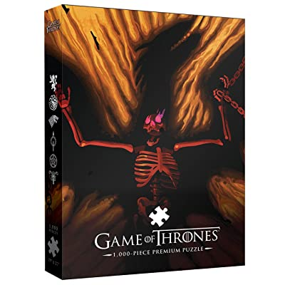 USAOPOLY Game of Thrones Premium Puzzle: Dracarys! 1000 Piece | A Beautiful Death Series Art Collectable Jigsaw Puzzles: Toys & Games