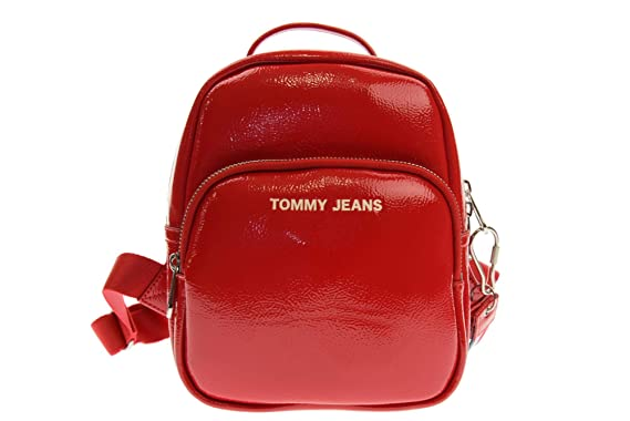 Tommy Hilfiger bolso mujer mochila AW0AW06228 661 TJW MODERN GIRL MINI BACKPACK PA UNICA Rosso