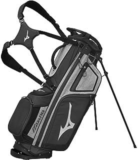 Amazon.com : Mizuno Pro 14-Way Stand Bag, Black/Charcoal ...