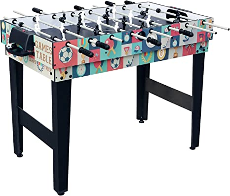 Jacks Household Futbolin/Mesa Multijuegos/Mesa 4 en 1 (Billar ...