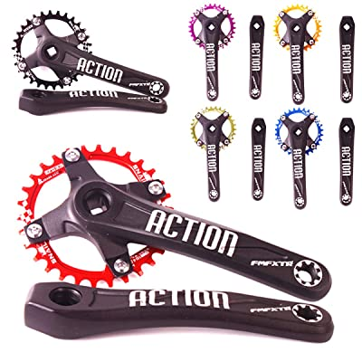 104BCD Bike Chainring 30-42T Narrow Wide Round Oval Chain Ring Fit Shimano Crank
