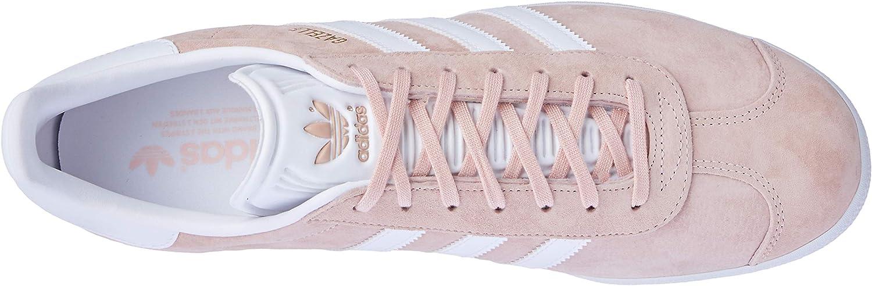 adidas Gazelle, Scarpe da Ginnastica Basse Uomo Rosa Vapour Pink White Gold Met srED9y