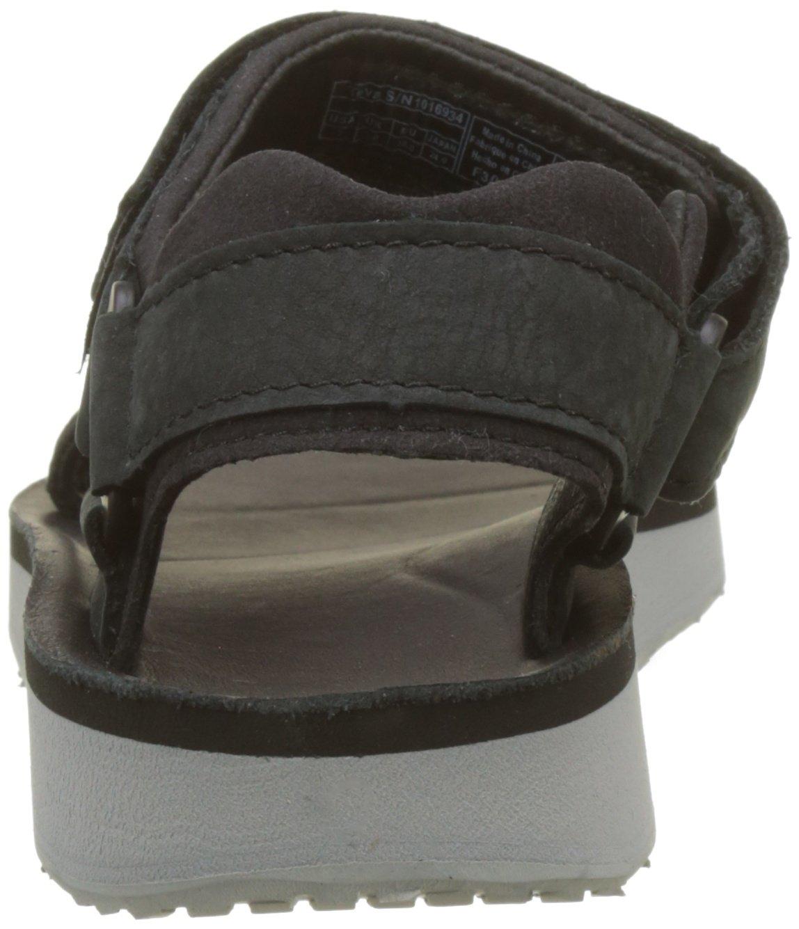 Teva Women's W Original Universal Premier-Leather Sandal B01IPRHSMM 11 B(M) US|Black