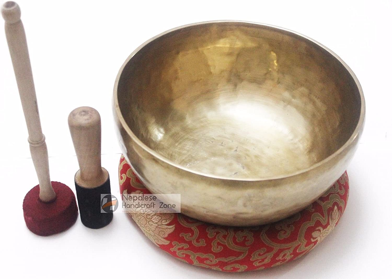 9 Singing Bowl - Tibetan Plain Singing Bowl - Meditation Bowl-Handmade Bowl Set by Nepalese Handicraft Zone NHZ