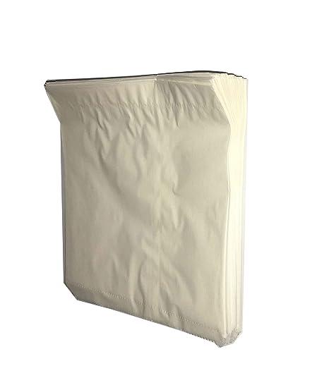 50 bolsas de papel marrón con frontal de película para ...