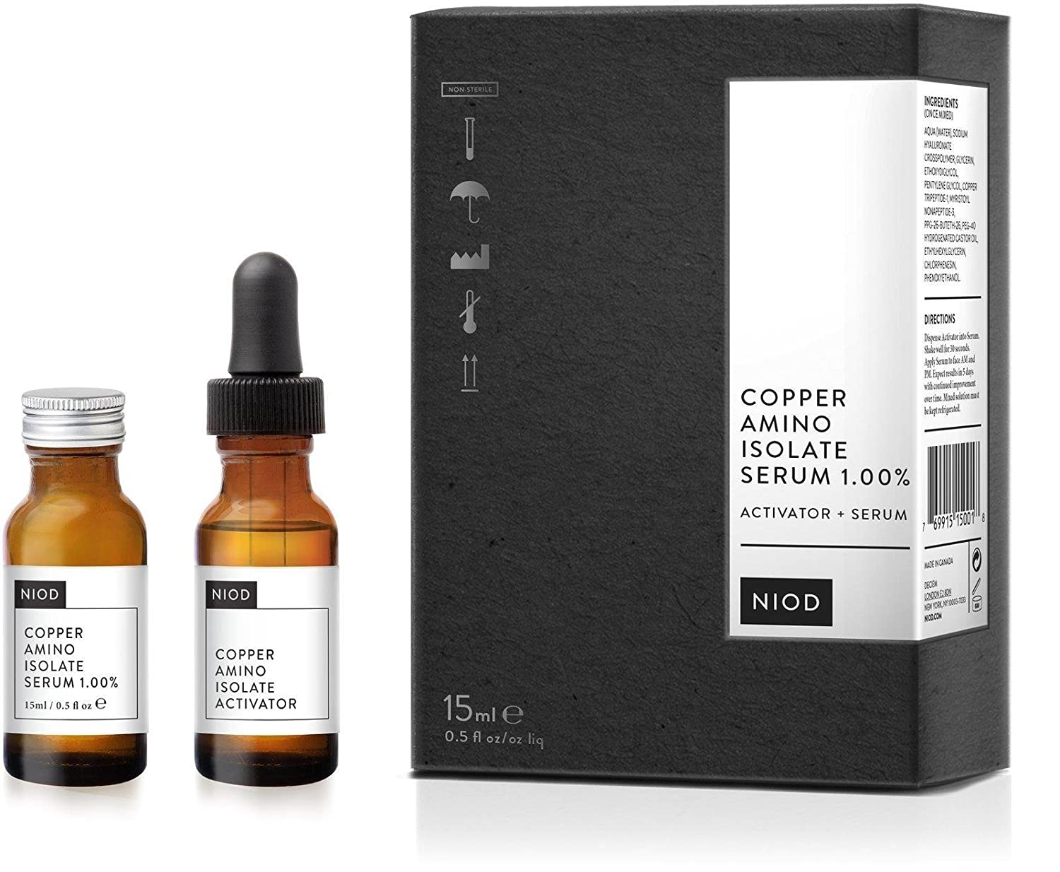 Image result for niod copper amino isolate serum