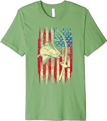 Download Amazon.com: American Flag Bass Fishing Shirt | Cute I Love ...