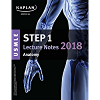 USMLE Step 1 Lecture Notes 2018: Anatomy (Kaplan Test Prep)