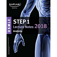 USMLE Step 1 Lecture Notes 2018: Anatomy (Kaplan Test Prep) (English Edition)