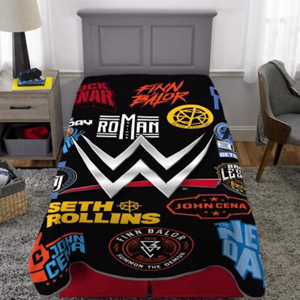 WWE KIds Twin Size Bedding Blanket