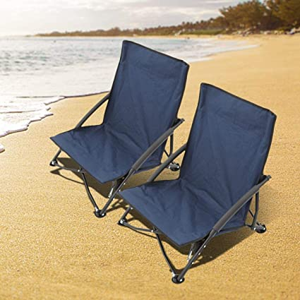 Amazon.com: Magshion 2 sillas plegables para acampada y ...