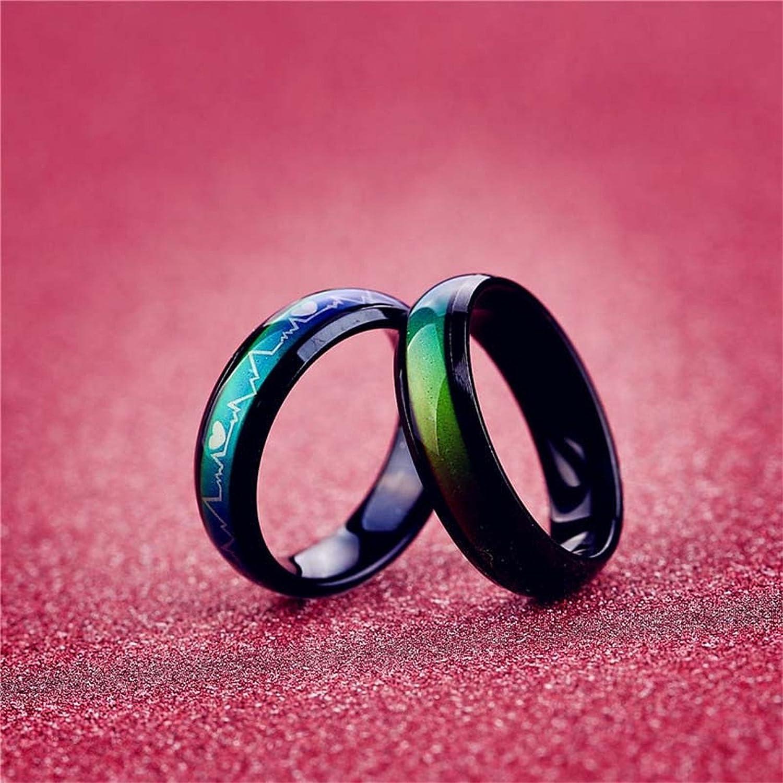 Amazon.com: KY Black Titanium Steel Sensitive Thermo Color Change ...