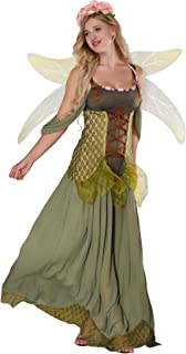 JJ-GOGO Fairy Costume Women - Forest Princess Costume Adult Halloween Fairy Tale Godmother Costumes  sc 1 st  Amazon.com & Amazon.com: Leg Avenue Womenu0027s Rebel Tink: Clothing
