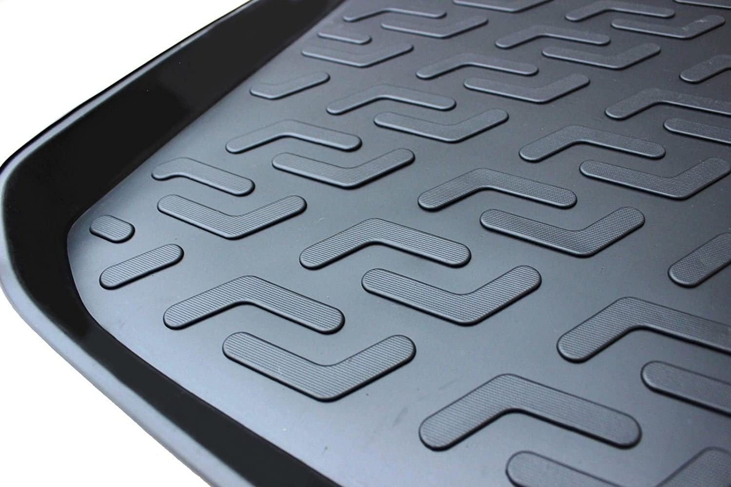 UKB4C Heavy Duty Tailored Fit Boot Liner Tray Car Mat For Fiesta MK7 2008-2015