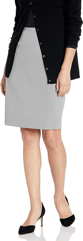 Calvin Klein Lux elástico Falda lápiz de la Mujer Tin: Amazon.es ...
