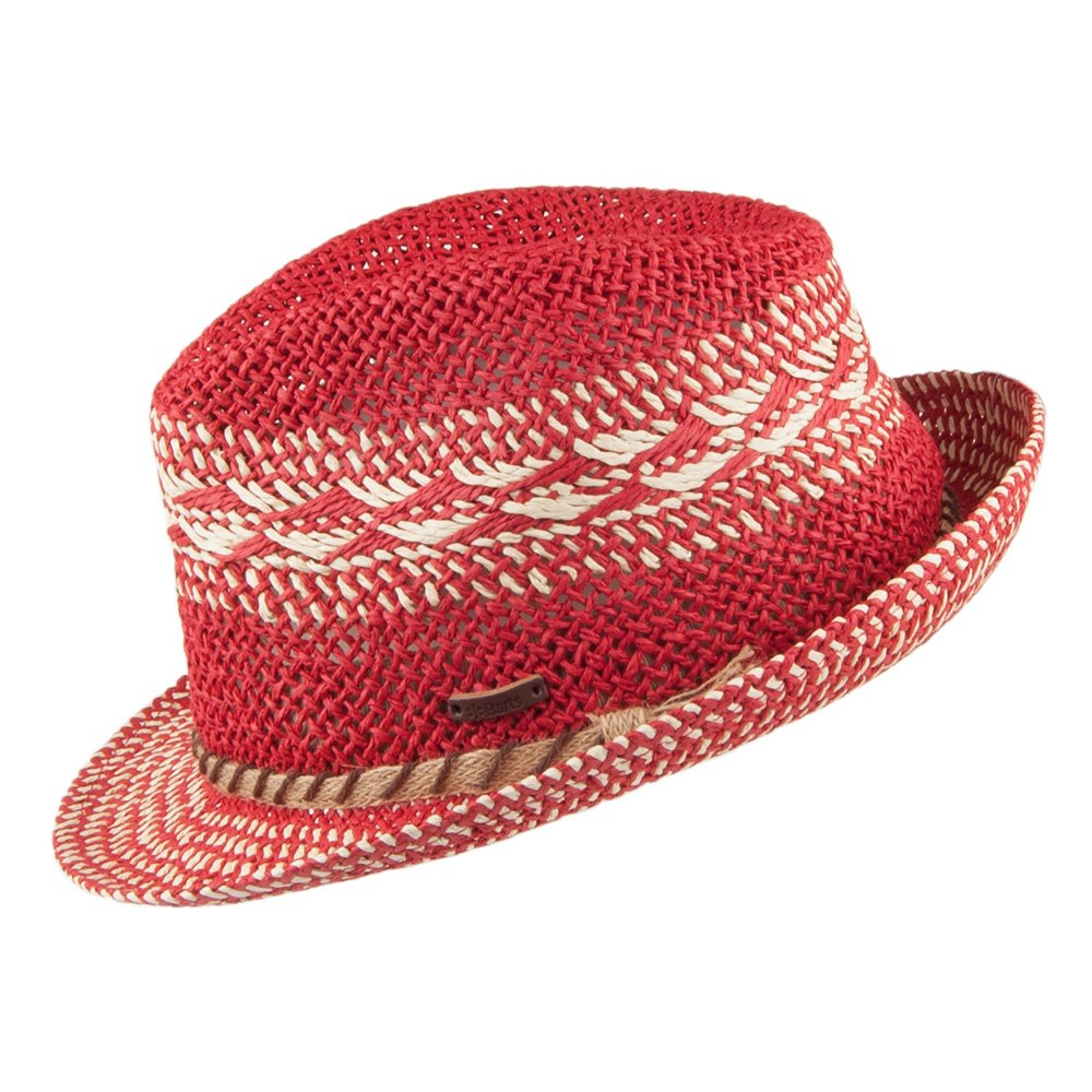 b2c3ada7 Barts Hats Venture Trilby Hat - Red Medium/Large: Amazon.co.uk: Clothing