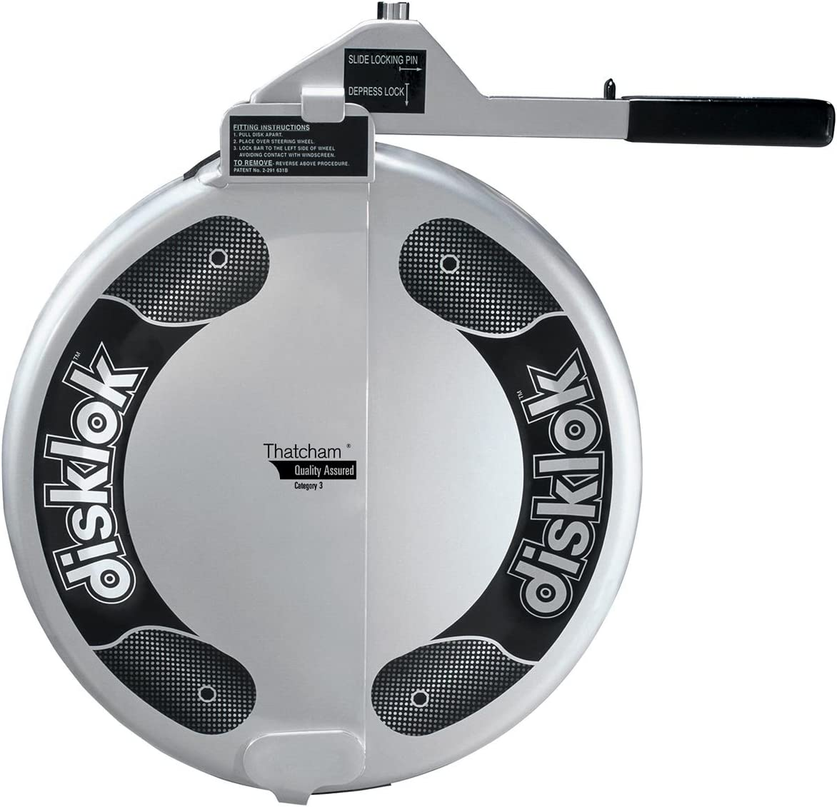 Disklok Security Device
