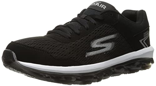 Skechers Performance Men's Go Air Walking Shoe, Black/White, 7 M US