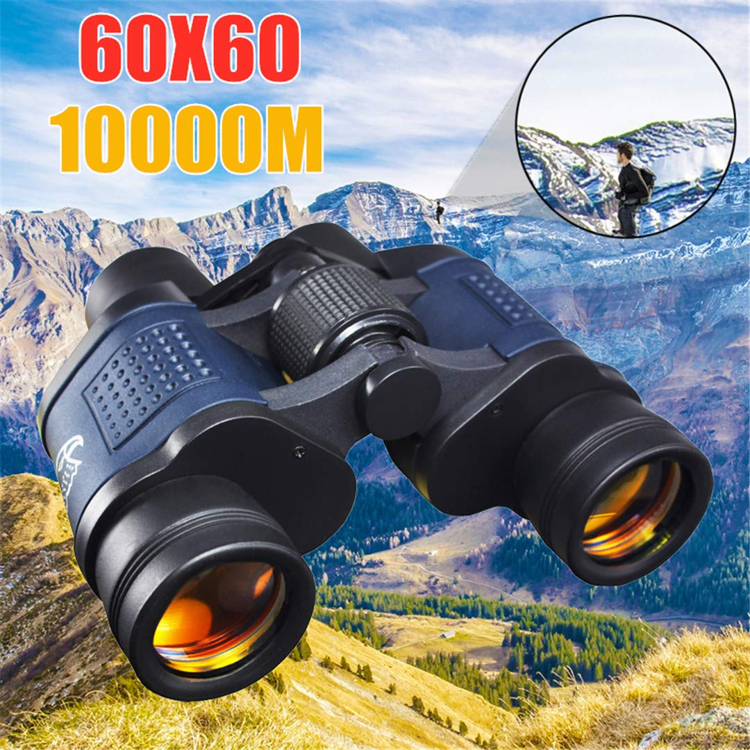 Teolhensot High Clarity Telescope Binoculars Hd 10000M High Power for Outdoor Hunting Optical LLL Night Vision Binocular Fixed Zoom by Teolhensot