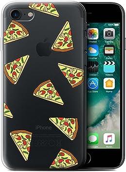 Coque Gel TPU de STUFF4 / Coque pour Apple iPhone 7 / Pizza Design ...
