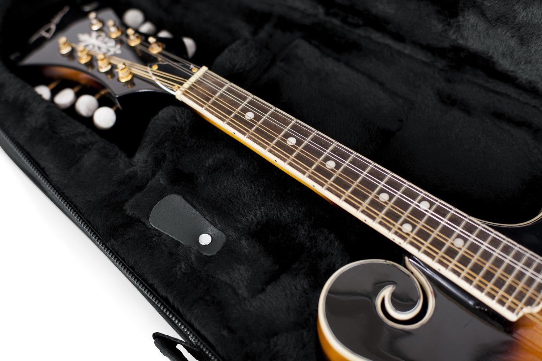 Gator Cases Lightweight Polyfoam Mandolin Case; Fits Both A and F Body Styles GL-MANDOLIN