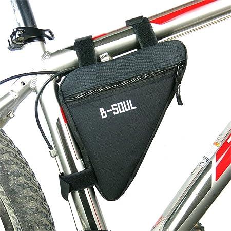 Paquete de cuadro de bicicleta Alforja for bicicleta deportiva Bolsa for cuadro de bicicleta, Accesorios for ciclismo al aire libre Frente de bicicleta Bolsa para guardar bicicletas delanteras: Amazon.es: Hogar