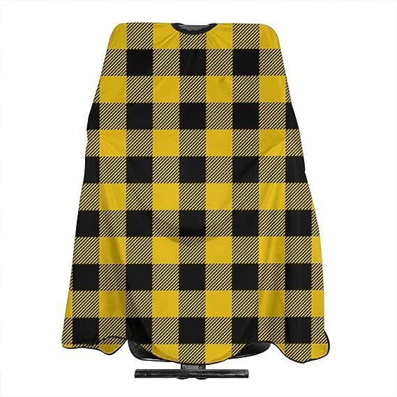 Delantal de pelo con diseño de búfalo, color amarillo mostaza ...