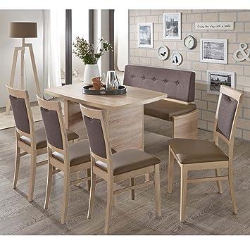 Bankgruppe Essgruppe Murano Iii Tischgruppe Bank Tisch 4 Stühle