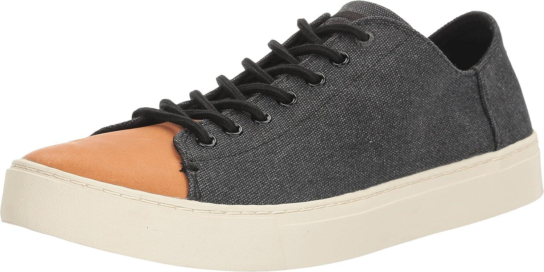 [トムス] スニーカー レノックス LENOX B01H5OCY2A 13 D(M) US|Black Washed Canvas/Leather
