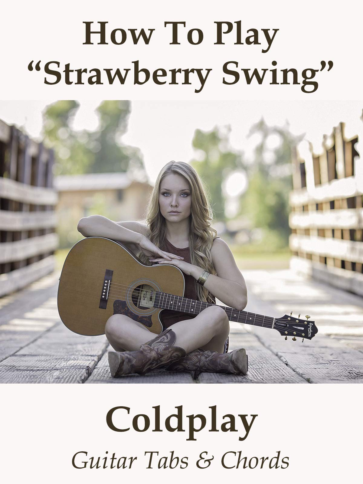 Watch How To Play Strawberry Swing By Coldplay Guitar Tabs