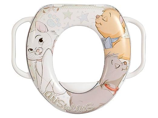 9 opinioni per Lulabi Disney Aristogatti Riduttore WC Morbido con Maniglie, Bianco