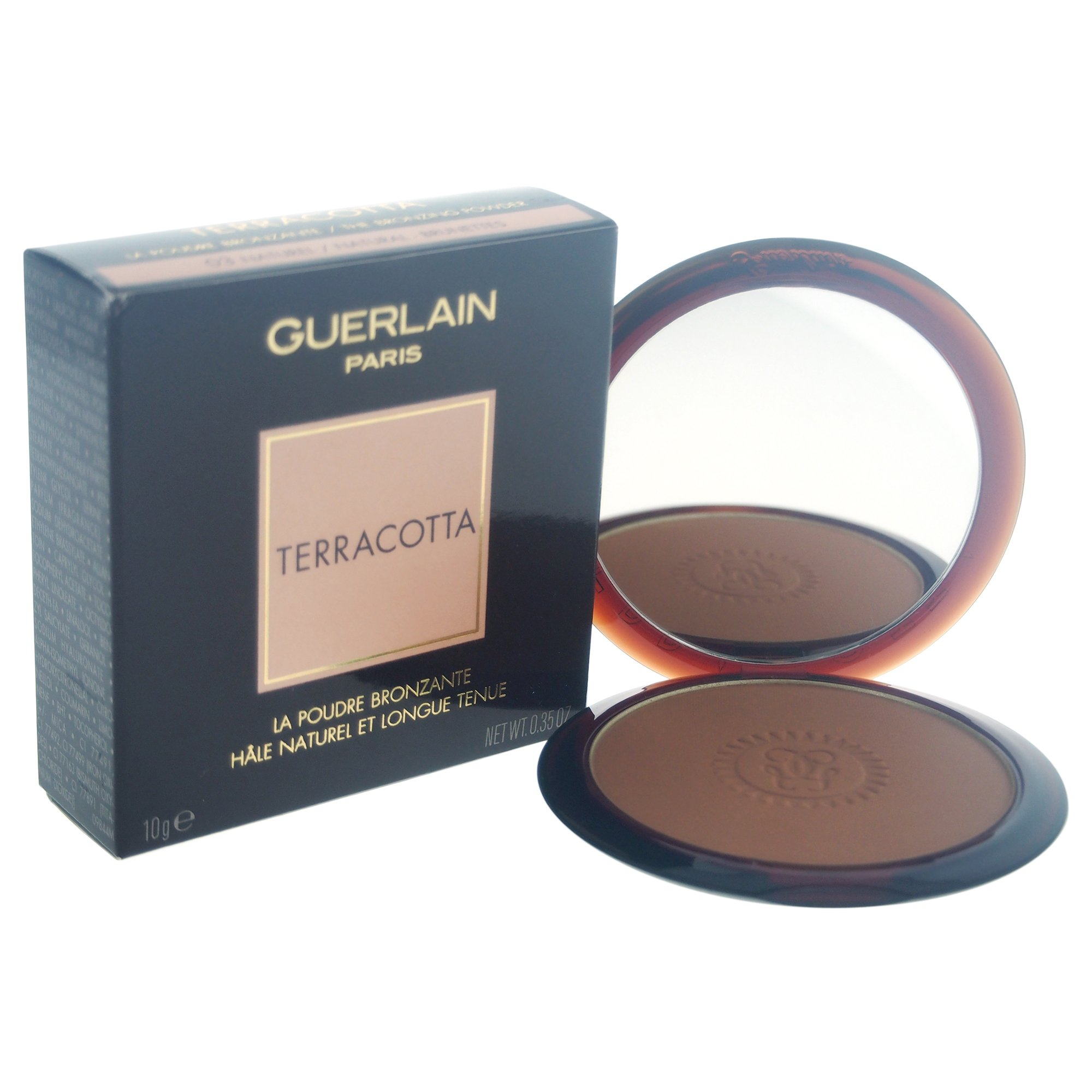 Guerlain Terracotta The Bronzing Powder, No. 03 Naturel/natural Brunettes, 0.35 Ounce by GUERLAIN