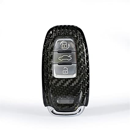 8578e1114558e3 100% Carbon Fiber Case For Audi Key Fob, Genuine Carbon Fiber Cover For Audi