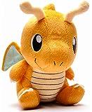 Dragonite Plush 7'' - Large Baby Dragonite Pokemon Plushie Toy 7 Inch Tall PRIME