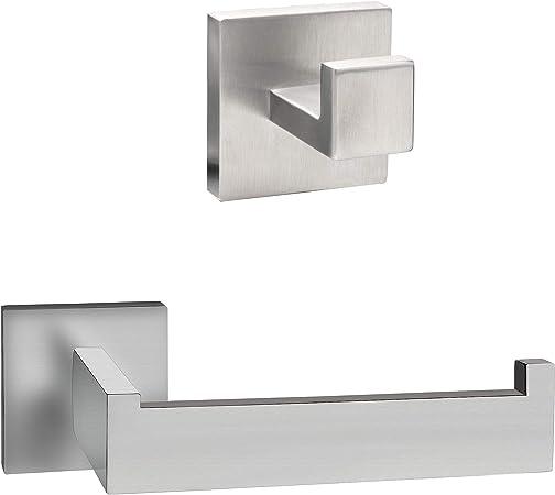 Ecence Set Toilettenpapierhalter Handtuchhalter Amazon De Elektronik