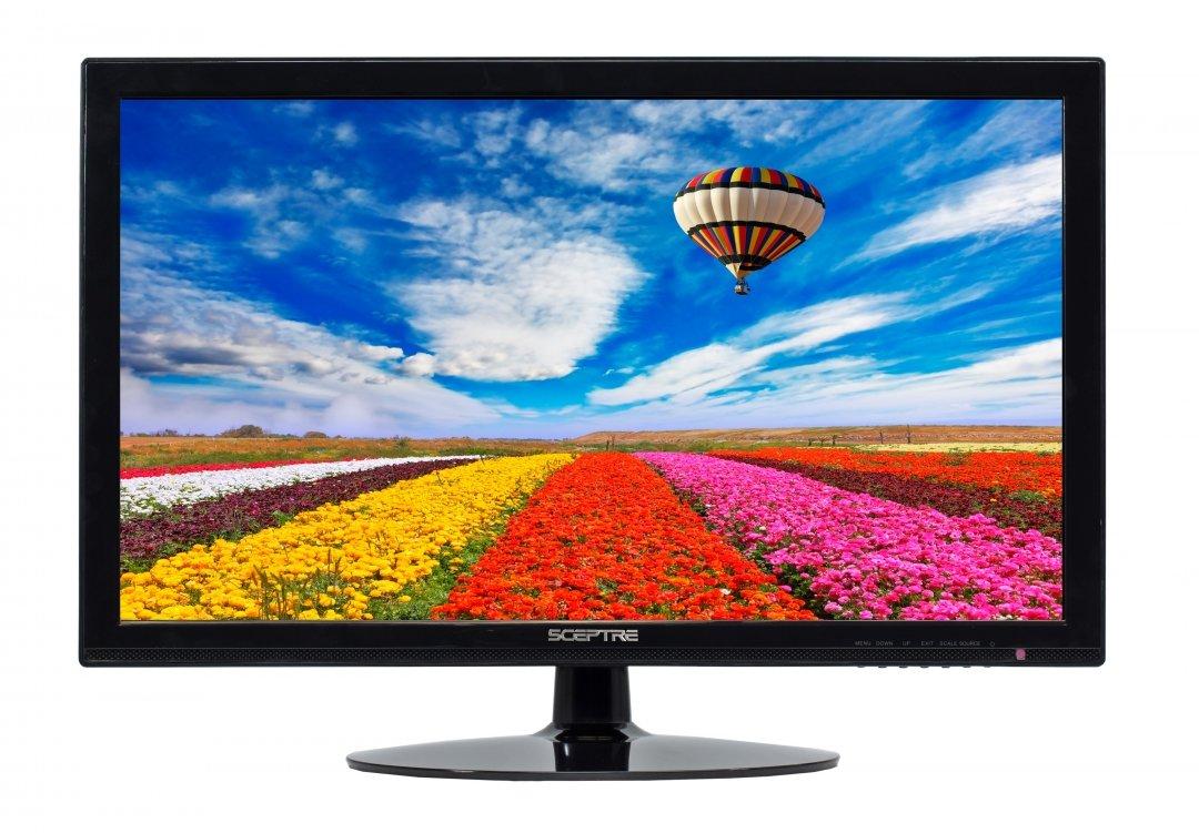 Sceptre 8A Series 24-Inch Screen LED-lit Monitor, True Black (E248W-19208A)