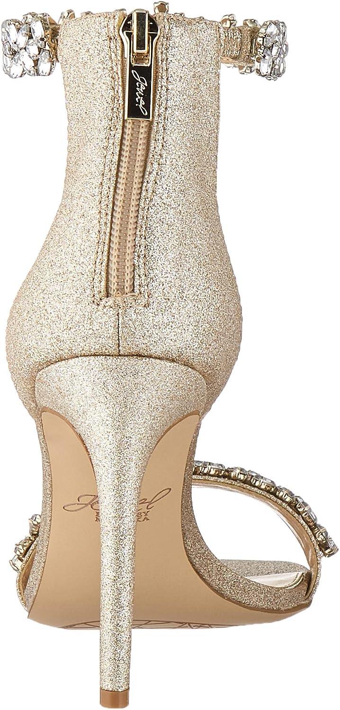 Badgley Mischka Womens Ramira Heeled Sandal
