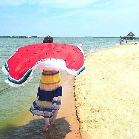 Grande Playa, piscina Toalla de mano de Mode redondas – Esterilla de yoga de tapiz