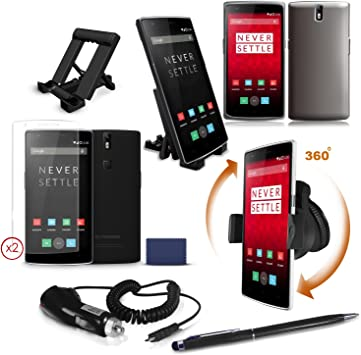 TechEssentials™ Pack de Accesorios para OnePlus One Móvil: Amazon ...